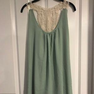 💚 CALS Pale Mint Dress - NWT - L
